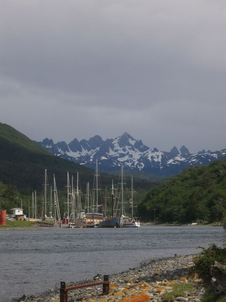 Puerto Williams, Tierra del Fuego, Chile.