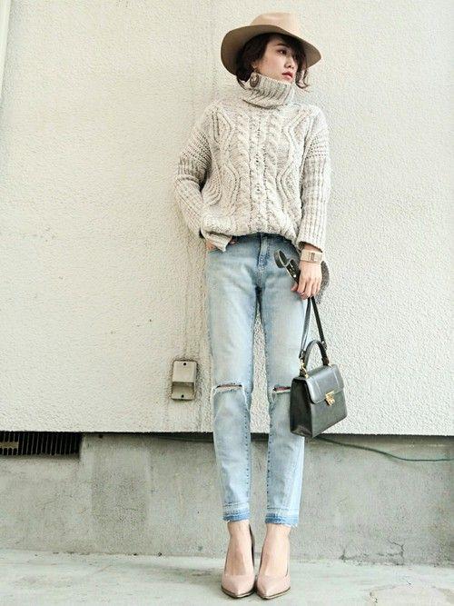 KORMARCHのニット・セーターを使ったmikiのコーディネートです。WEARはモデル・俳優・ショップスタッフなどの着こなしをチェックできるファッションコーディネートサイトです。