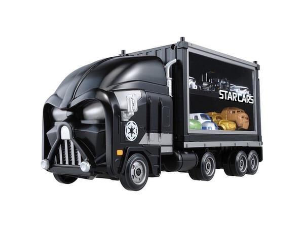 Star Wars: Star Cars - Car Carrier Trailer - Darth Vader By Takara Tomy