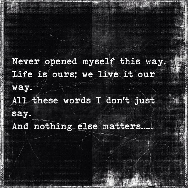 Nothing Else Matters | Metallica                                                                                                                                                      More