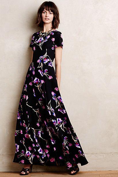 Best 25  Silk maxi dresses ideas on Pinterest | Long casual ...
