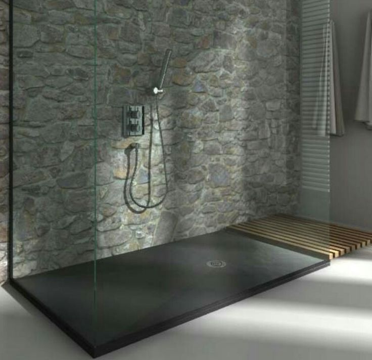 36 best DECO  Parements divers images on Pinterest Stones, Wall - idee de salle de bain italienne