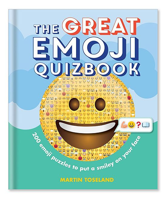 The Great Emoji Quizbook: 500 Emoji Puzzles Hardcover