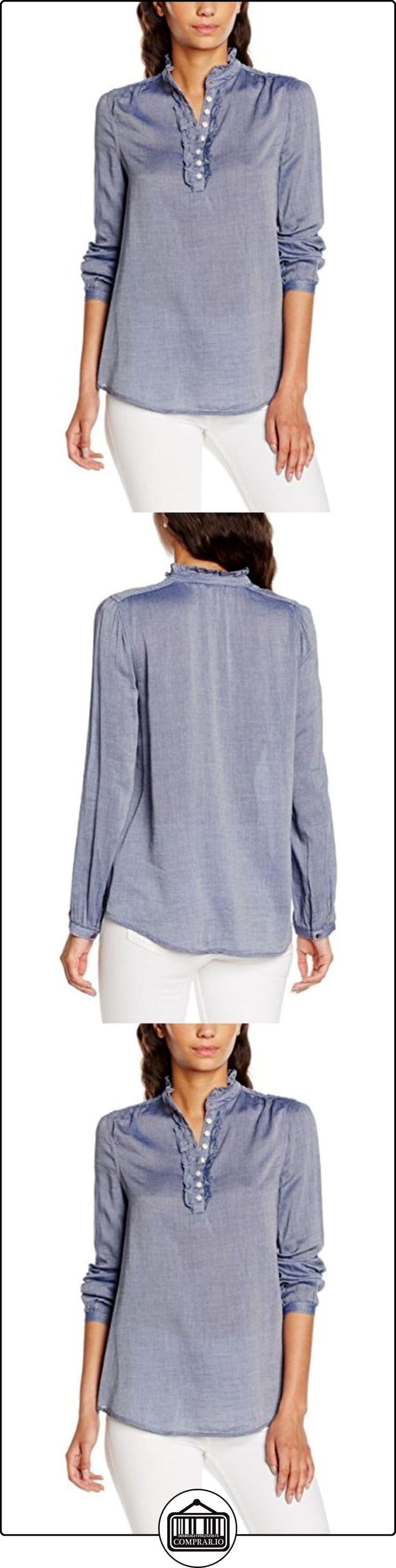 Hilfiger Denim DW0DW00697, Blusa para Mujer, Blau (Navy Blazer 416), 42  ✿ Blusas y camisas ✿