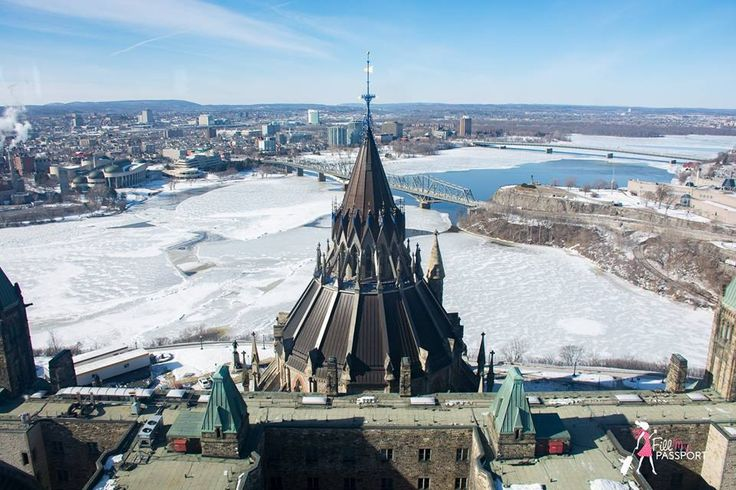 The View from the Peace Tower