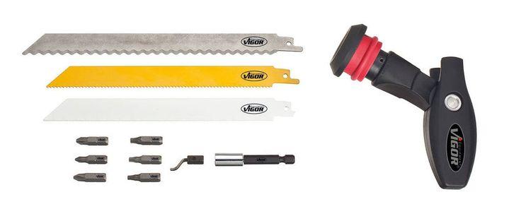 Vigor Multi-Tool Säge/Schraubendreher, 12 teilig in Heimwerker, Werkzeug, Sonstige | eBay