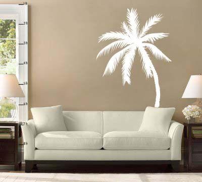 Palm Tree Vinyl Wall Decal Sticker 33h x by IslandCustomDesigns, $24.99