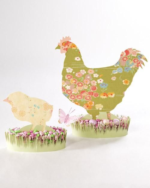 Easter Fabric Silhouettes How-To