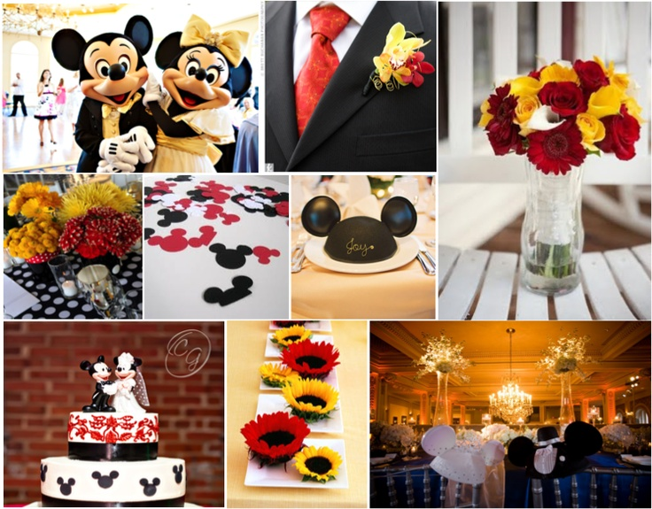 1000+ Images About Minnie & Mickey Mouse Wedding Shower On