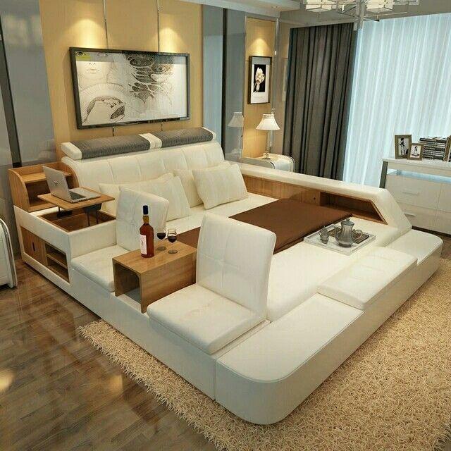 24 best lavish bed rooms images on Pinterest   Bedroom suites ...