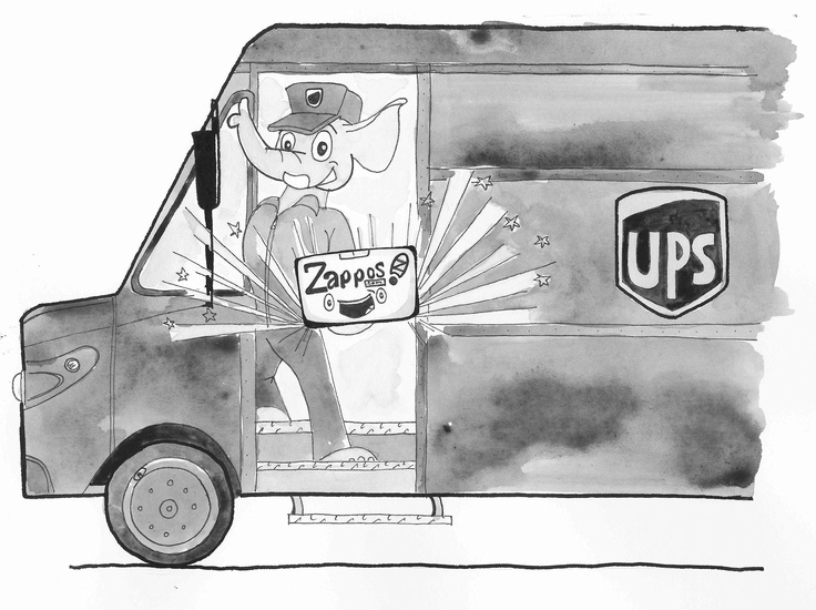 UPS Zappos Delivering Happiness