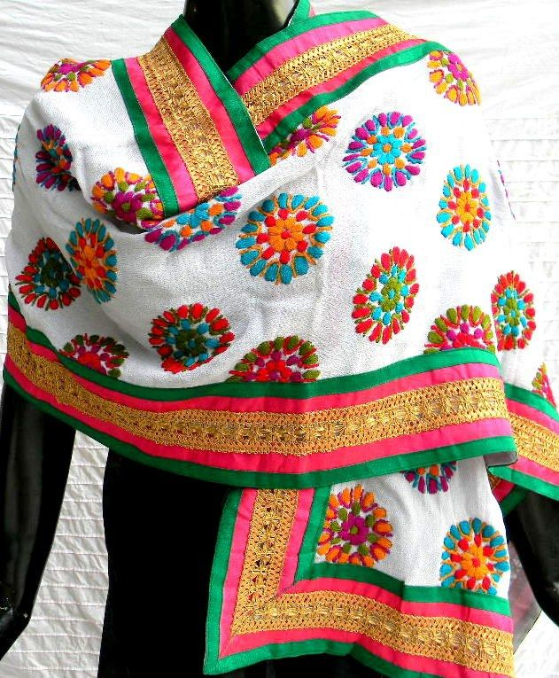 traditional phulkari dupatta - Google Search