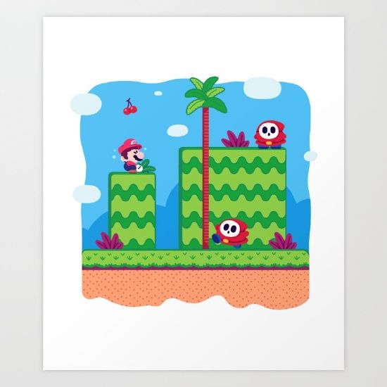 Tiny Worlds - Super Mario Bros. 2