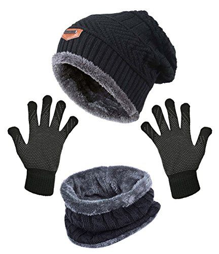 Great for HINDAWI Slouchy Beanie Gloves for Women Winter Hat Knit Warm Snow  Skull Cap Touch Screen Mittens.   4.99 - 17.99  allfashiondress from top  store 83c1ad74d469
