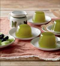 Green tea jelly