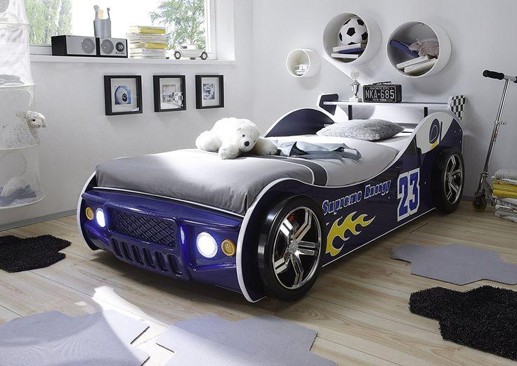 Kinderbett auto weiss  173 besten Auto Kinderzimmer Bilder auf Pinterest | Autos, Disney ...