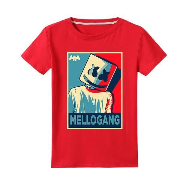Camiseta Nino Marshmello Roja Camisetas Camisetas Nino Ninos