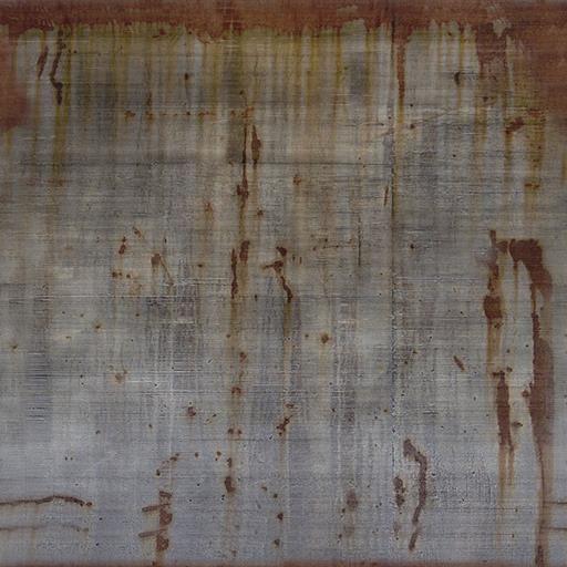 La textura del metal del moho