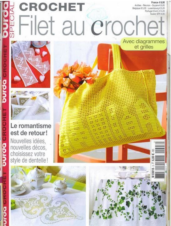 Crochet - Many pretty projects for the home.