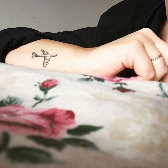 Pin for Later: 40 Tiny Tattoos For Travel-Lovers Always Away