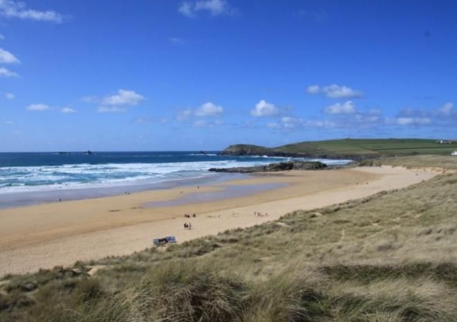Constantine Bay Beach, Padstow, Cornwall c Jess Brown