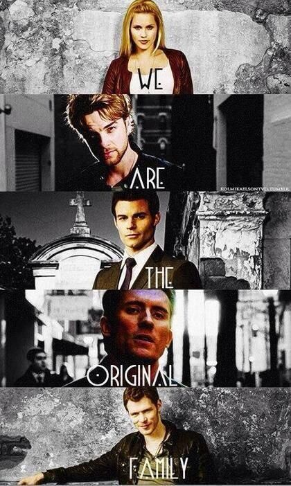 #TheOriginals<<I feel like they forgot someone...again. Can't remember his name for the life of me, though...