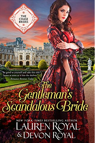 The Gentleman's Scandalous Bride: A Sweet & Clean Historical Romance (The Chase Brides Book 7)
