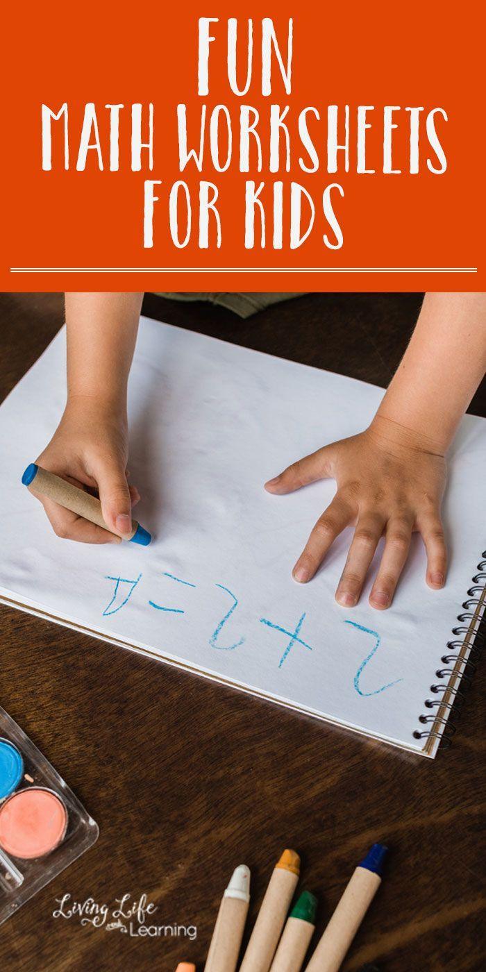 Math Worksheets for Kids   Homeschool Math Ideas   Pinterest   Fun ...