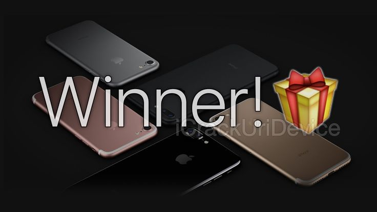 MORE IPHONE 7 & 7PLUS WINNERS!!!