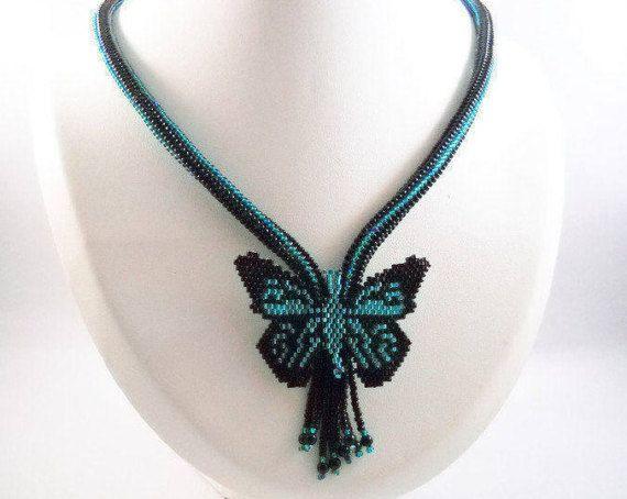 Kralenwerk Statement Juwelen Elegante Zwarte Ketting Avond