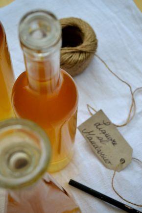 Liquore al mandarino fatto in casa - homemade mandarin liquor
