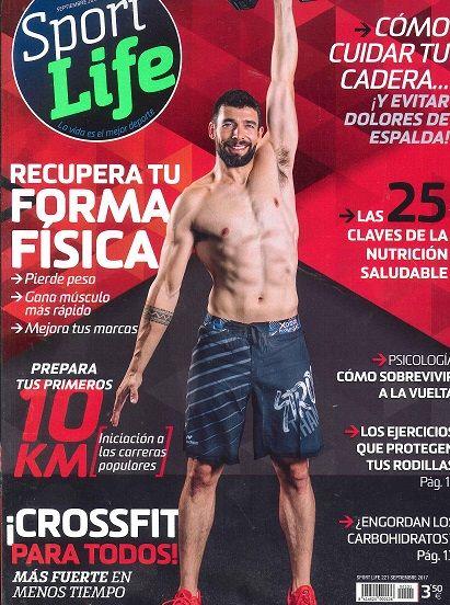 """DEPORTES. """"Sport life"""" Revista especializada en deportes, nutrición y entrenamiento, que busca el lado práctico bajo el lema """"la vida es el mejor deporte"""". Consejos, planes de entrenamiento, trucos..."""