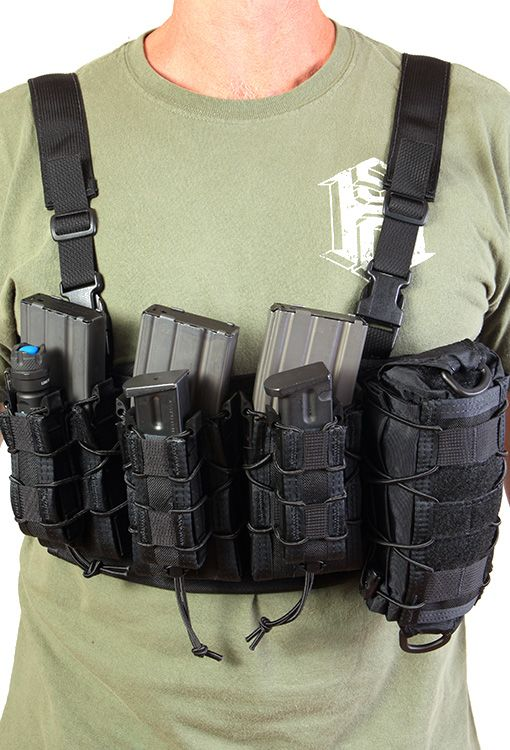 HSGI | Chest Rig Just a simple MOLLE platform for your add on's.