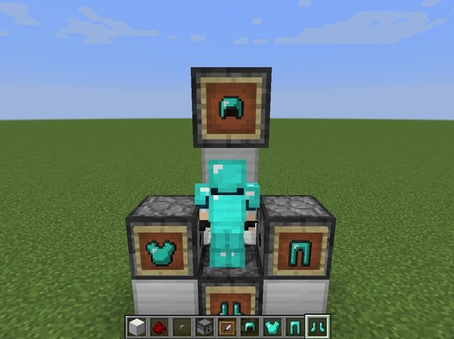 Student written tutorial: How to Make an Automatic Armor Equipper in #Minecraft #stuchoice #stuvoice #minecraftedu