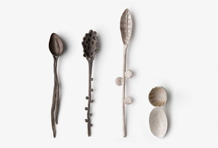 Gabi Veit Spoon, 2013. Silver.  </ Br> Photo Federico Cavicchioli.