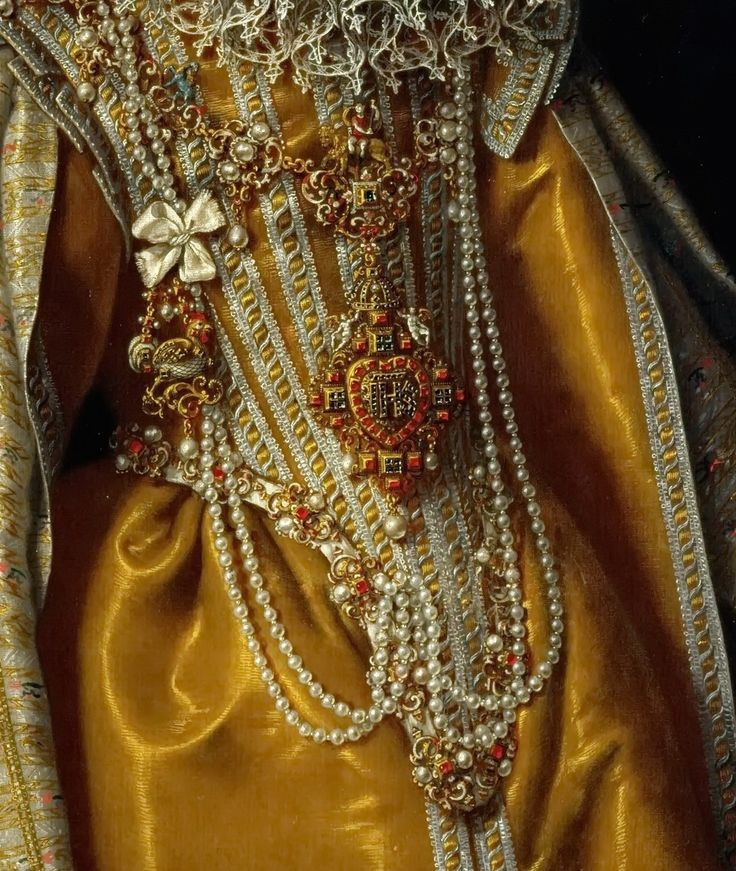 Frans Pourbus the Younger (1569-1622) -- Archduchess Maria Magdalena (1571-1631)