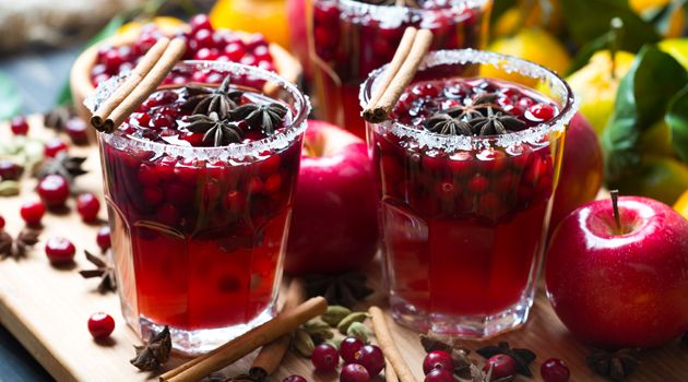 Bucks Fizz or champagne? Egg nog or mulled wine? We've compiled a list of delicious cocktails and tipples to make your Christmas just that little bit merrier.