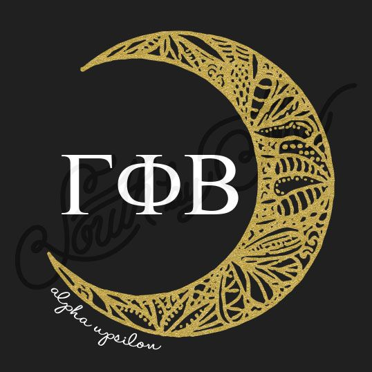 Sorority Recruitment Gamma Phi Beta Crescent Moon South By Sea
