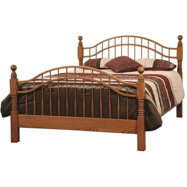 Amish Laurel Victorian Bed ($789) ❤ Liked On Polyvore Featuring Home,  Furniture, · Black Queen ...