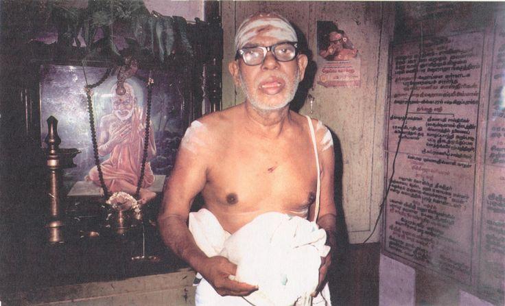 In Mahaperiyava's words - The 64th Nayanmar Pradosha Venkata Rama Iyer