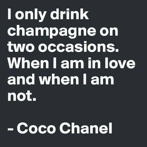 ~Coco Chanel