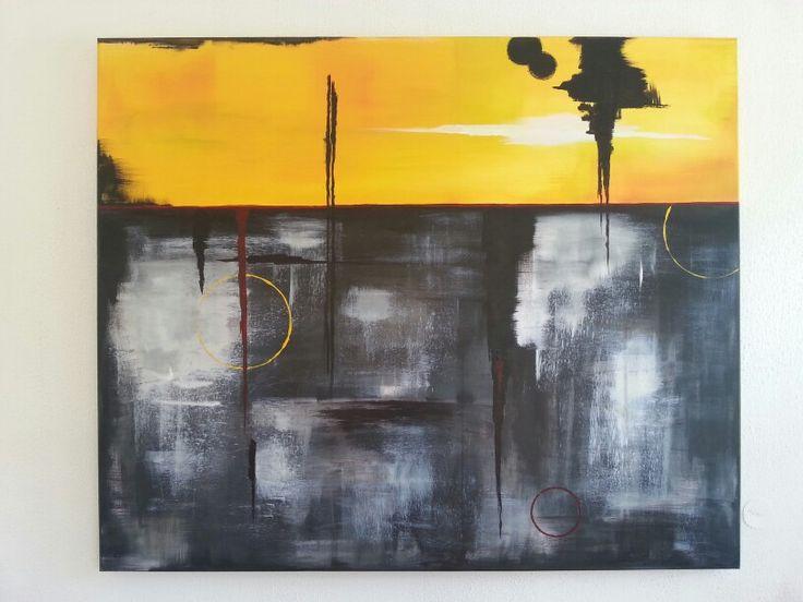 Abstrakt by Silja Skag.  www.alvoenkunst.no