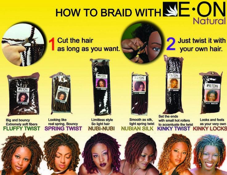 Spring Twist Hair - Eon Braiding Hair   Luxe Beauty Supply