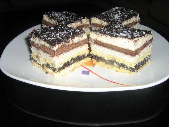Egy finom Diós-mákos krémes süti ebédre vagy vacsorára? Diós-mákos krémes süti Receptek a Mindmegette.hu Recept gyűjteményében!