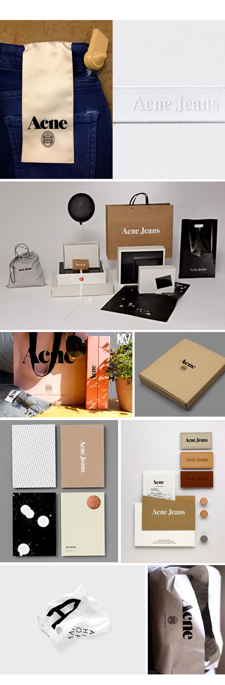 Acne Jean branding and #packaging PD
