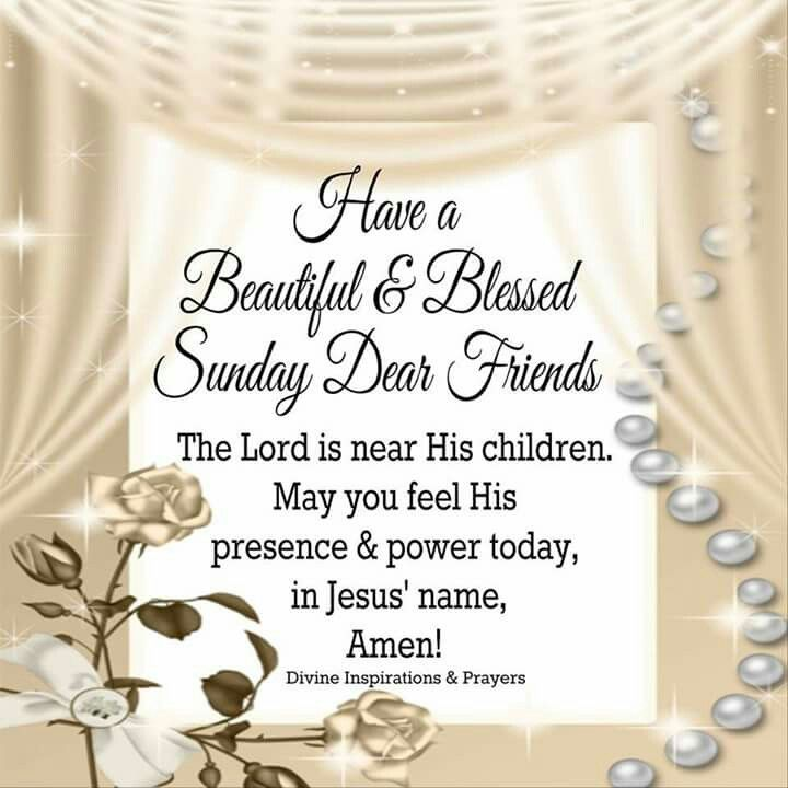 Sunday Blessings! More