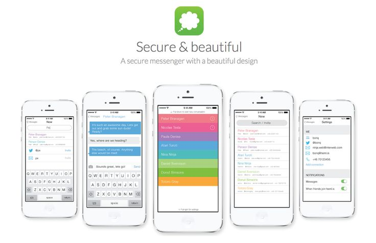 Hemlis – A secure & beautiful messaging app coming soon