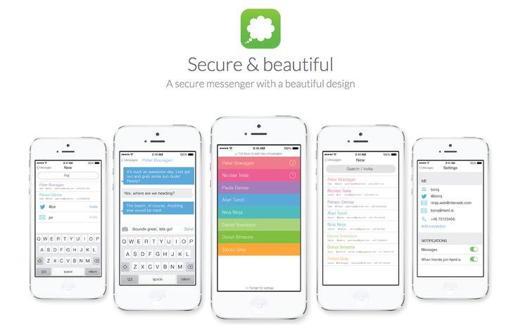 Hemlis – A secure & beautiful messaging app coming soon