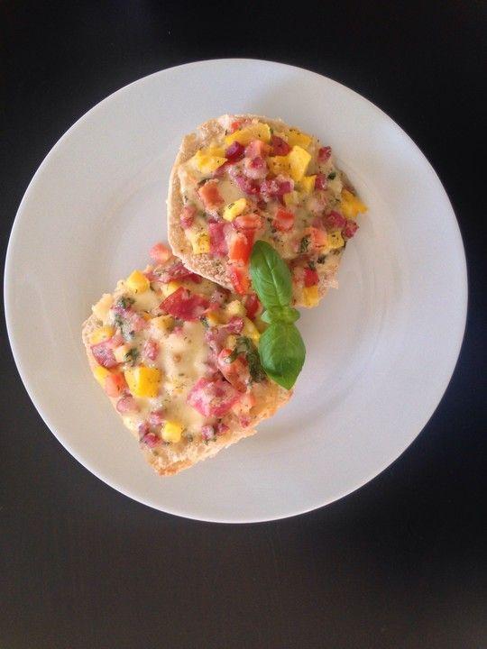 Superschnelle Pizzabrötchen 1