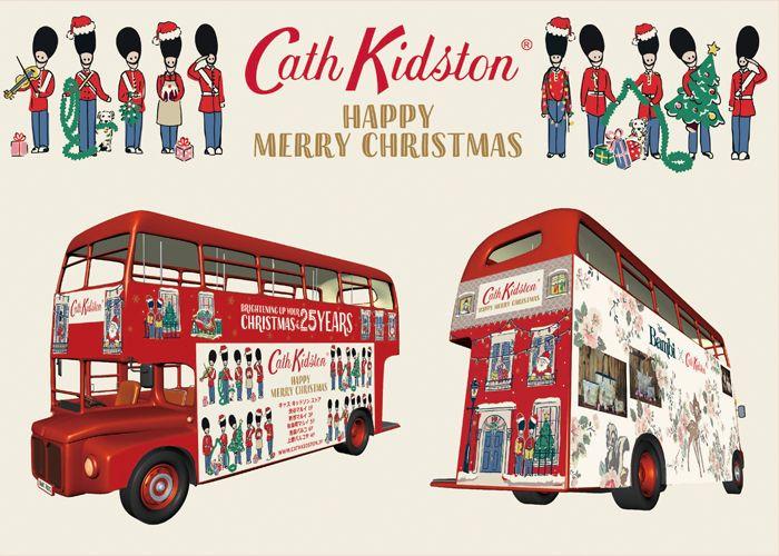 ロンドンバスでイルミネーションスポットを走行するクリスマス ナイト シャトルバスを無料で運行 ブログ Cath Kidston Official Online Shop キャスキッドソン公式通販サイト ロンドンバス ロンドン クリスマス ロンドン